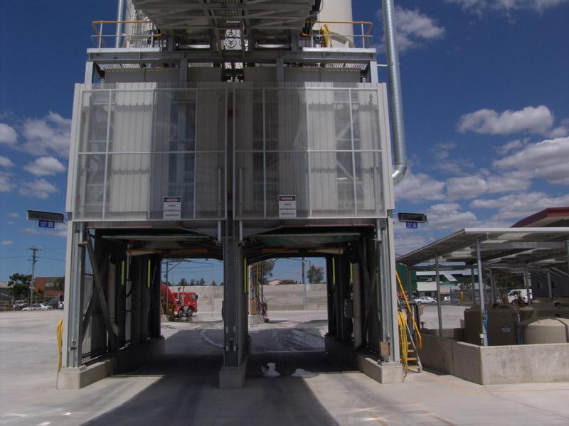 Antarctica Batch Plant Bendigo Aggregate Weigh Hopper